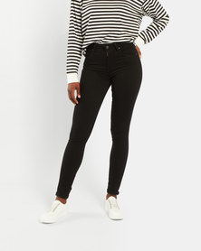 Levi's ® 721 High Rise Skinny Jeans Black