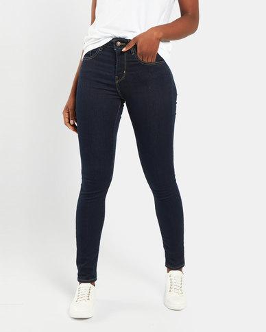 Levi's ® 721 High Rise Skinny Jeans Blue