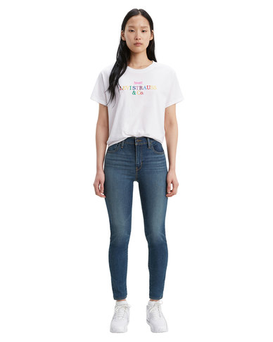 Levi's ® 720 High Rise Super Skinny Jeans Blue