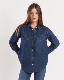Levi's ® Dori Western Shirt Blue