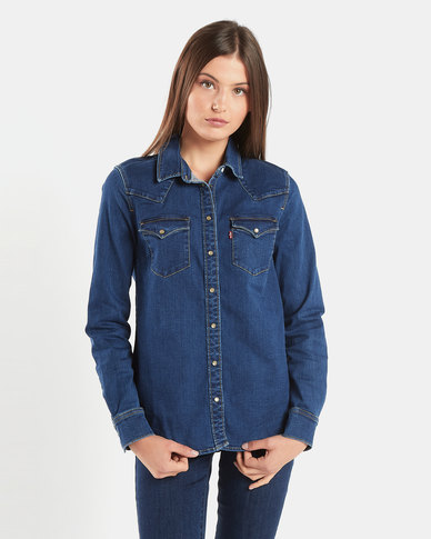 Levi's® Ultimate Western Shirt Blue