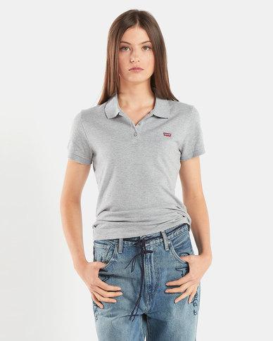 Levi's ® Slim Polo Shirt Grey