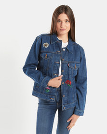 Levi's ® Ex-Boyfriend Trucker Jacket Blue