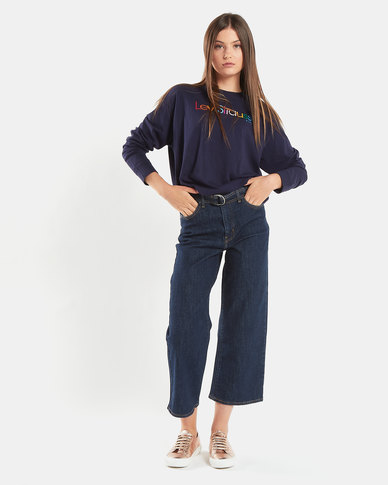Levi's ® Long Sleeve Graphic Tee Blue