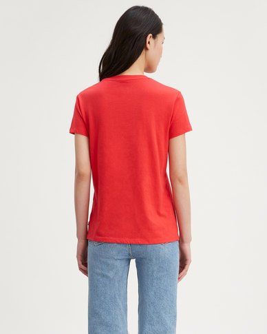 Levi's ® Perfect Graphic Tee Red