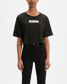 Levi's ® Graphic Oversized Tee Black