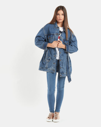 Levi's ® Belted Trucker Jacket Blue