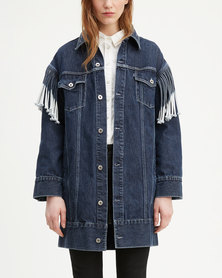 Levi's ® Oversized Ranch Dress Blue