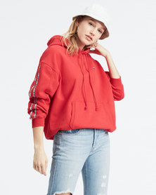 Levi's ® Unbasic Hoodie Red