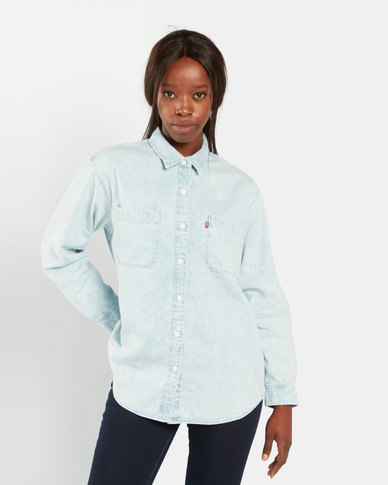 Levi's ® Utility Shirt Light Blue