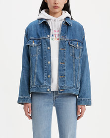 Levi's ® Dad Trucker Jacket Blue