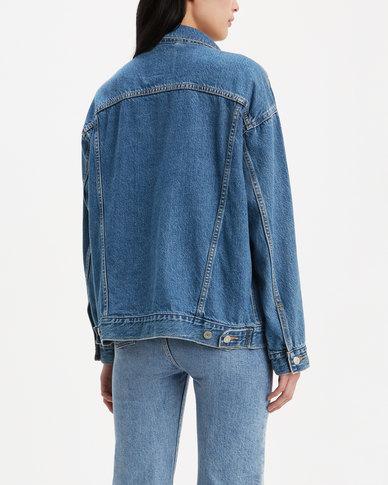 Levi's ® Dad Trucker Jacket Blue