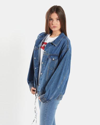 Levi's ® Dad Sport Trucker Jacket Blue