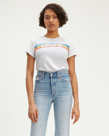 Levi's ® Perfect Graphic Tee White