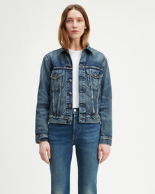 Levi's ® Made & Crafted Boyfriend Trucker Jacket Blue