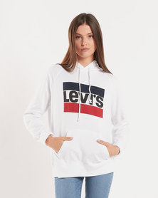 Levi's ® Graphic Sport Hoodie White