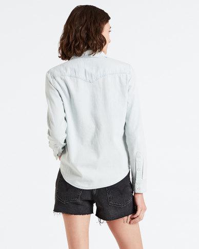 Levi's ® Ultimate Western Shirt Light Blue
