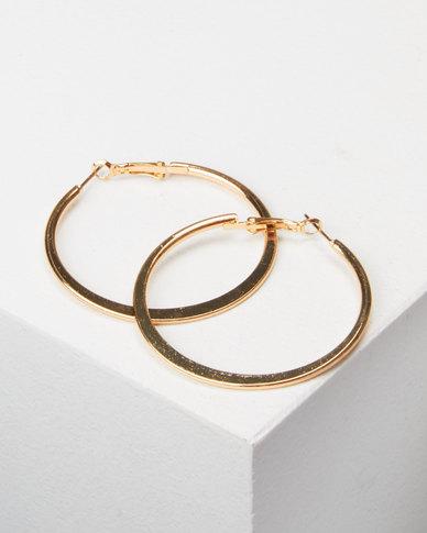 Legit Medium Hoops Gold