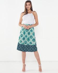 Maya Prass Sizani Swing Skirt Blush