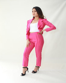 INFIN8TI Cigarette Crop Trousers