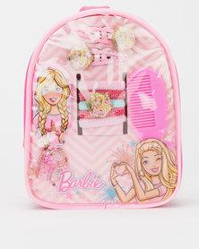 Character Brands Barbie Hair Accessories Bag Pink