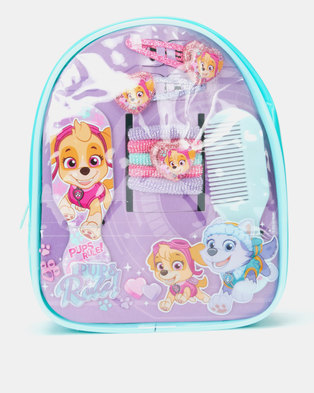 Character Brands Paw Patrol Hair Accessories Bag Purple