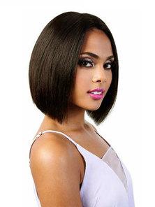 Blkt bob cut Style 6 inches 12A Brazilian Wig