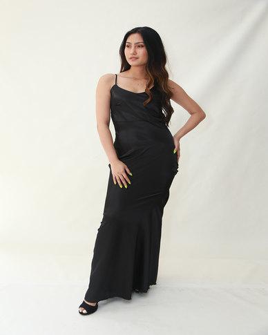 INFIN8TI Slip Maxi Dress