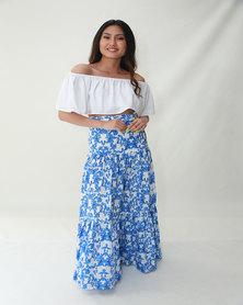INFIN8TI Tier Maxi Skirt