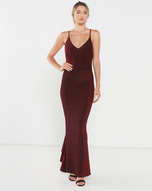 Princess Lola Boutique - A Night To Remember Gown - Deep Red