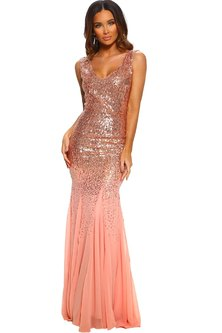 Night At The Oscars Sequin Gown