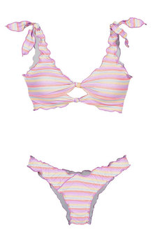 Princess Lola Boutique - Free Spirit Bikini - Striped