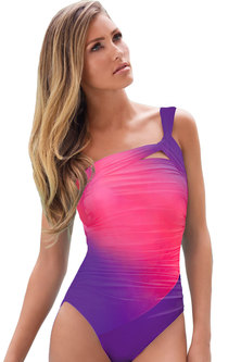Princess Lola Boutique - Obsession Ombre Fade Monokini - Pink