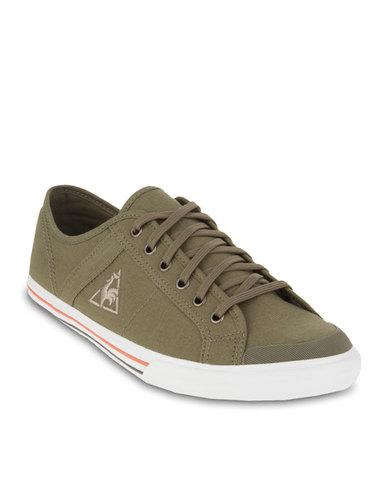 4c6410fe21fa Le Coq Sportif Saint Malo Sneakers Brown