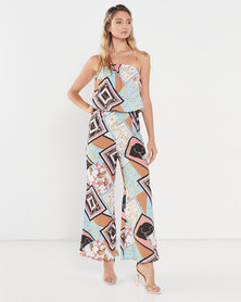 Allegoria Digital Print Jumpsuit Multi