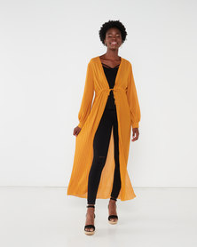 Revenge Long Length Top Mustard
