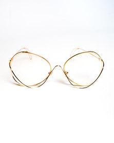 Era Nu Eyewear Clock Maker Gold