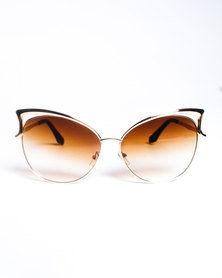 Era Nu Eyewear Copper Cat Brown