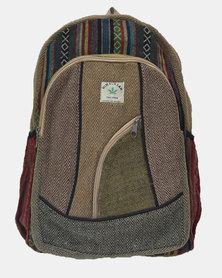 SKA Dark Hemp Backpack Kaki