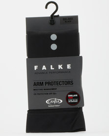 Falke Performance Arm Protector Long Unisex Black