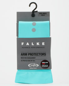 Falke Performance Arm Protector Long Unisex Light Aqua