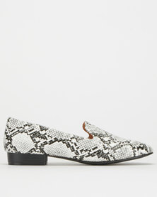 Utopia Snake Loafer White