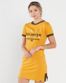 ECKÓ Unltd Welt Dress Yellow