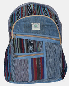 SKA Dark Hemp Backpack Blue
