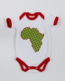 ShweshweBaby Africa Onesie Multi