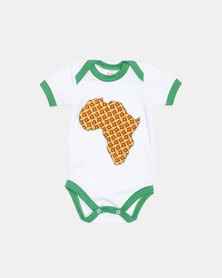 ShweshweBaby Africa Onsie Orange