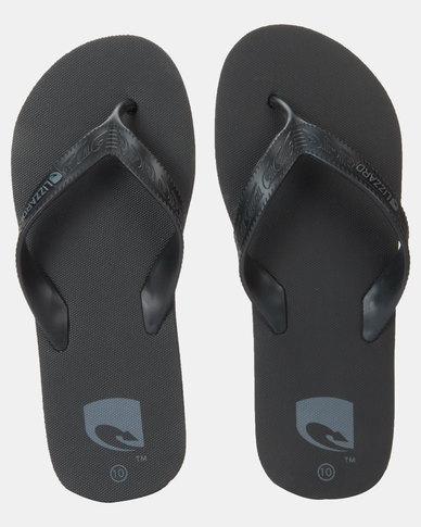 Lizzard Stryker Flip Flops Black