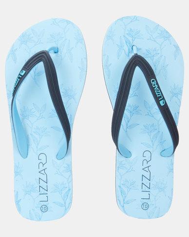 Lizzard Bolton Flip Flops Blue