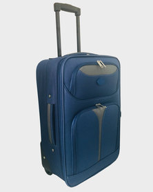 Marco Soft Case Luggage Bag - 28 inch Blue-Grey