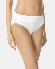Warner's Microfibre Hi-Cut Brief White - No Pinching, No Problems